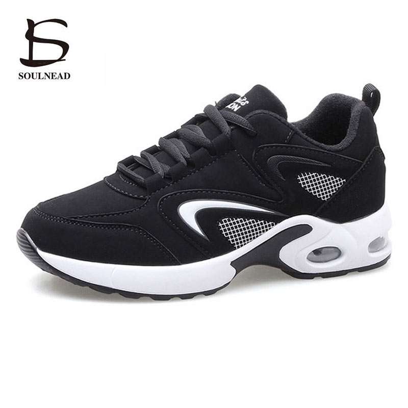 Summer Running Sport Shoes For Women Outdoor Sneakers Fashion Casual Shoe Air Cushion Breathable Lace up Female Shoes Pink 35 40 in Running Shoes from Sports Entertainment