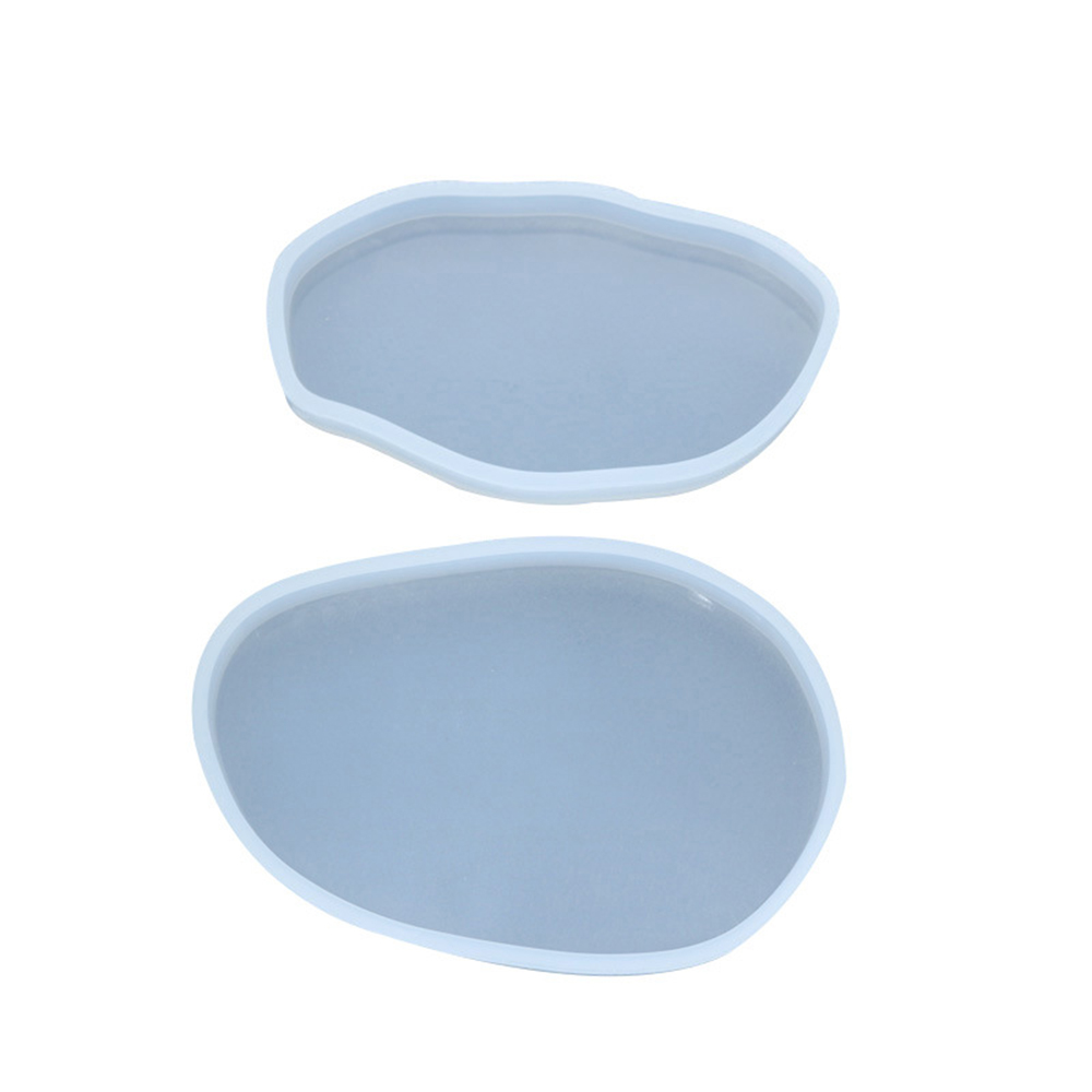 Silicone Molds Resin Oval Dish Plate Mold for Hand Making DIY Craft Decorations Ornaments