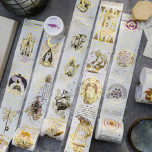 Gold Foil Washi Tape Vintage Paper Tape For Handcrafts And Diy Supplies For Scrapbooking Crafts Christmas Gift Birthday Wedding