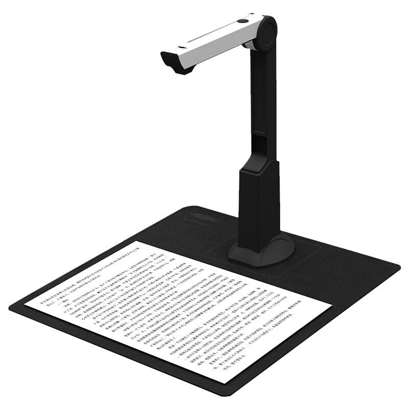 File Recognition Scanner 5 Mega-Pixel High Definition S580P Book Scanner Capture A4 Size Document Camera Video Make Machine