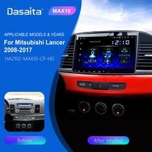 Dasaita Android 10 0 samochodowe Stereo 10 2 #8222 ekran HD TDA7850 dla Mitsubishi Lancer 10 EVO Radio 1 Din nawigacja GPS Bluetooth 5 0 tanie tanio CN (pochodzenie) Jeden Din 10 2 4*50W System operacyjny Android 10 0 Jpeg Dasaita player for Mitsubishi Lancer 2017 1280*720