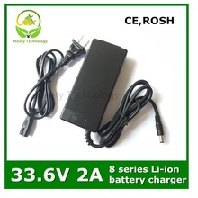 33.6v2a INPUT100 240V Output 33.6V 2A Charger for 8 Series Lithium Li ion Battery Good Quality Warranty
