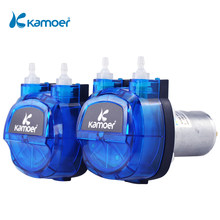 Kamoer KHM 12V/24V Peristaltic Water Pump Brushed Motor with Silicon/Norprene Tube for Lab Analysis and Liquid Filling