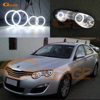 For Roewe 550 MG 550 2008 2009 2010 2011 2012 Excellent Angel Eyes Ultra bright illumination smd led Angel Eyes kit DRL