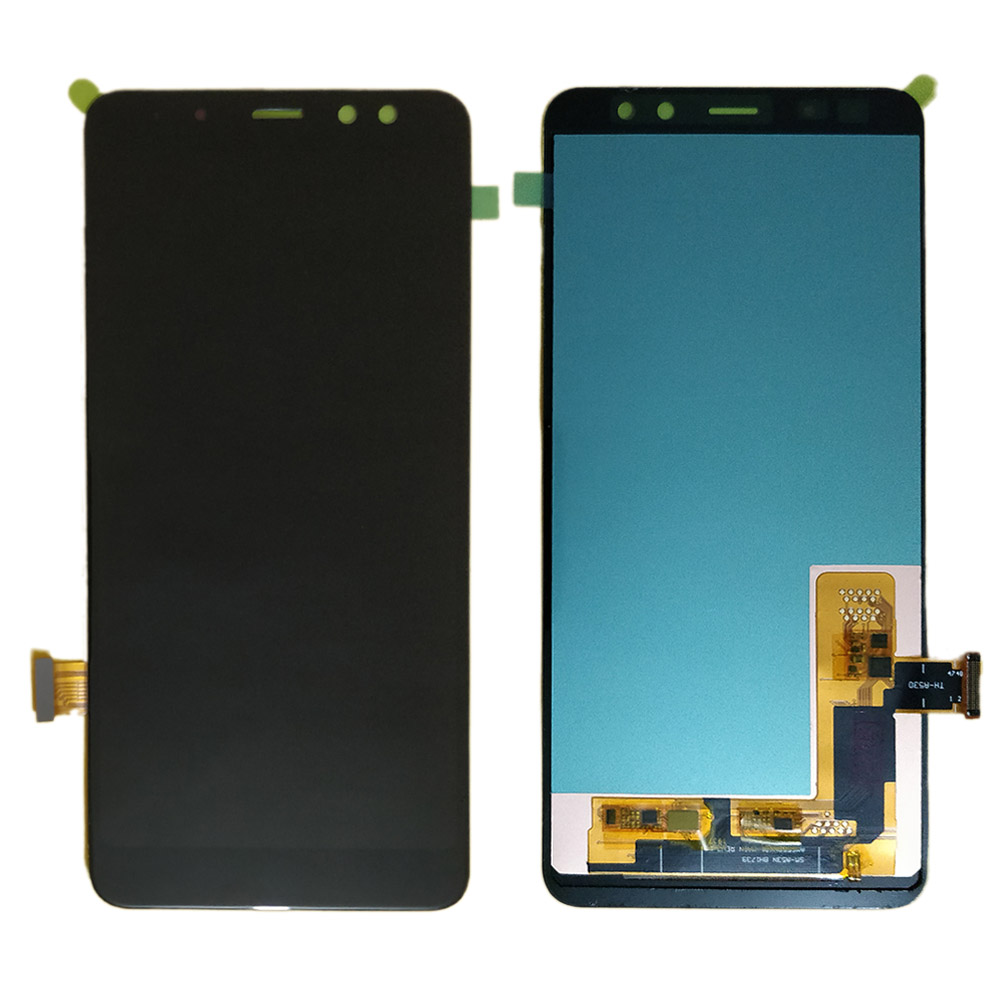 For <font><b>Samsung</b></font> Galaxy <font><b>A8</b></font> 2018 A530 A530F A530DS LCD <font><b>display</b></font> and Touch <font><b>Screen</b></font> Digitizer Assembly <font><b>A8</b></font> 2018 LCD A530FD amoled <font><b>Screen</b></font> image