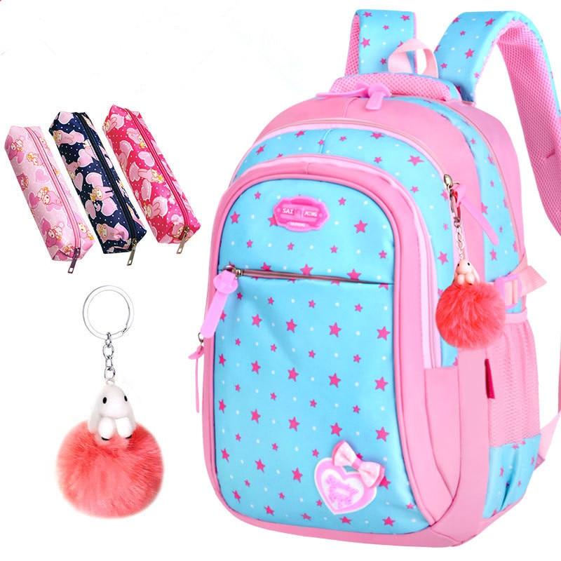 Image 2 - 2020 New Hot Sale School Bags children backpacks Large Capacity Student Bag Simple Splash proof Backpack Sweet Print BackpackSchool Bags   -