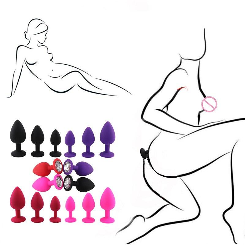 Anal Plug Butt Plug Dilator Masturbator No Vibrator Sex Toys For Women Men Adult Games Erotic Sex Shop