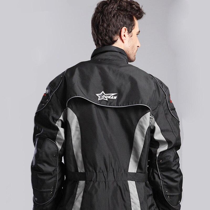 Veste de Moto Moto D023 vestes d'équitation coupe vent Moto corps complet équipement de protection armure CE hiver Moto vêtements - 3