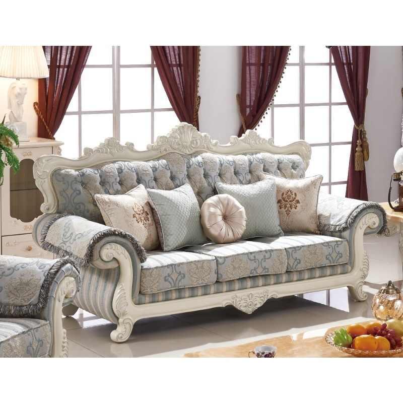 Modern Wooden Sofa Sets For Living Room