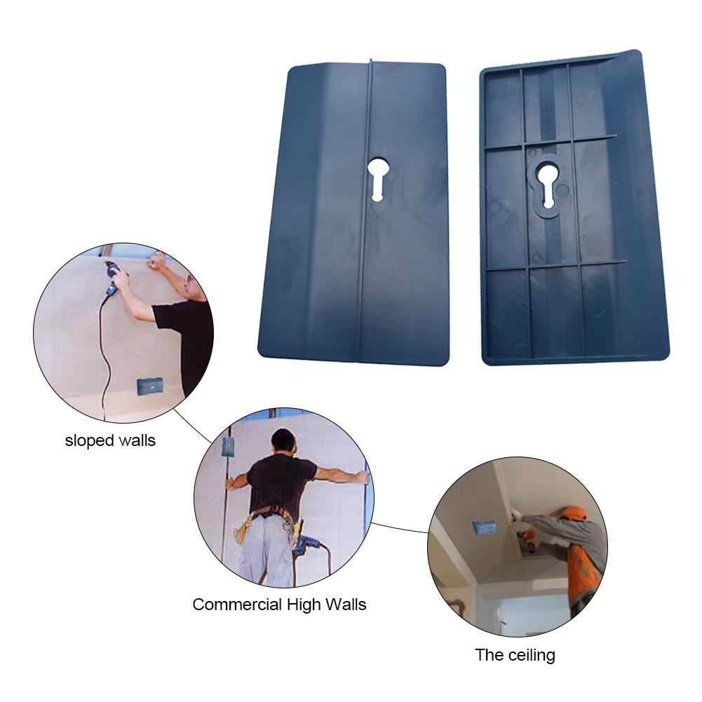 2Pcs Ceiling Positioning Plate Sloped Drywall Plasterboard Fix Carpenter Tool C