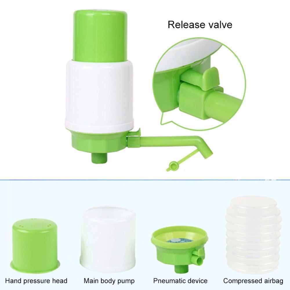 5 galão Dispensador de Água Potável Engarrafada Mão Imprensa Bomba Manual Portátil Levert Torneira Ferramenta Acessórios Para Bar