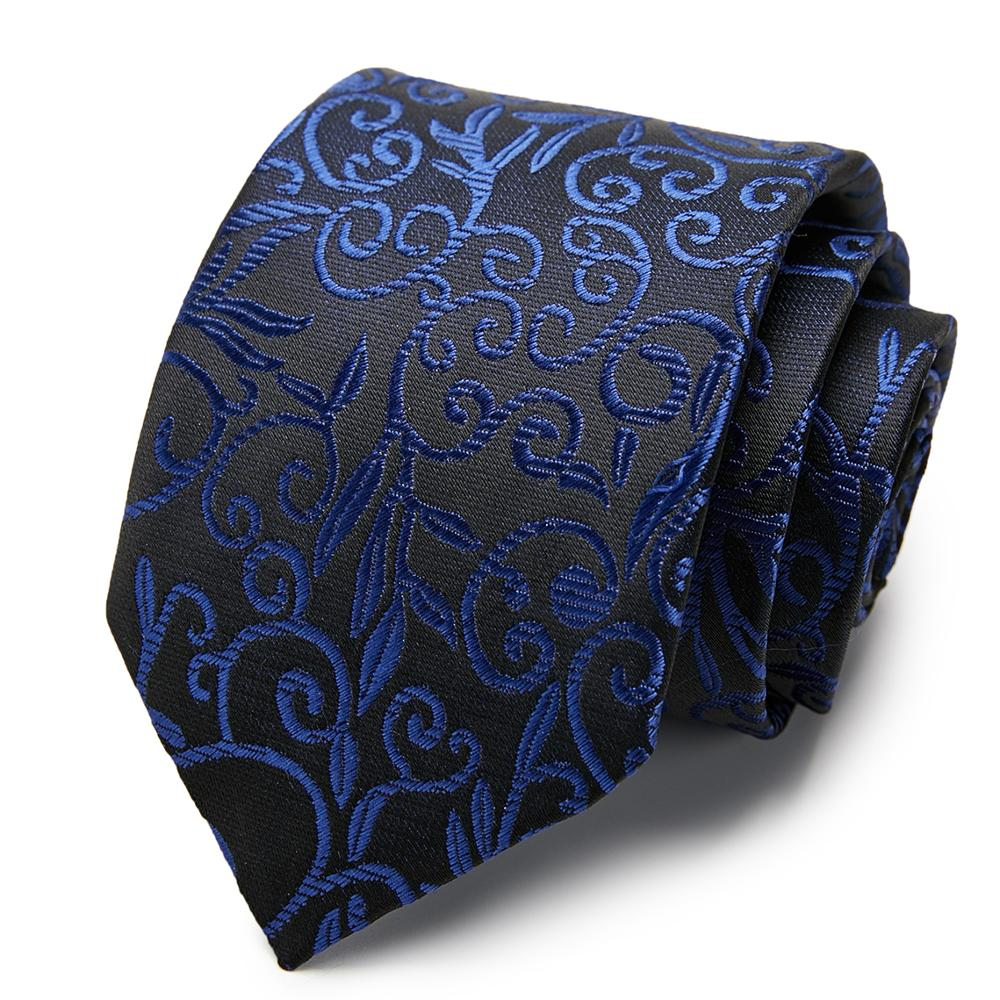 63 Styles Silk Men's Ties Stripe Flower Floral 7.5 Cm Jacquard Necktie Accessories Formal Wedding Party Gift For Man