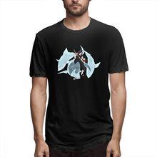 2019 Naruto Water Tailed Beast Men's Short Sleeve T-shirt 3D Print t shirt Cotton Funny T-shirt home TopTees water drop 3d print t shirt