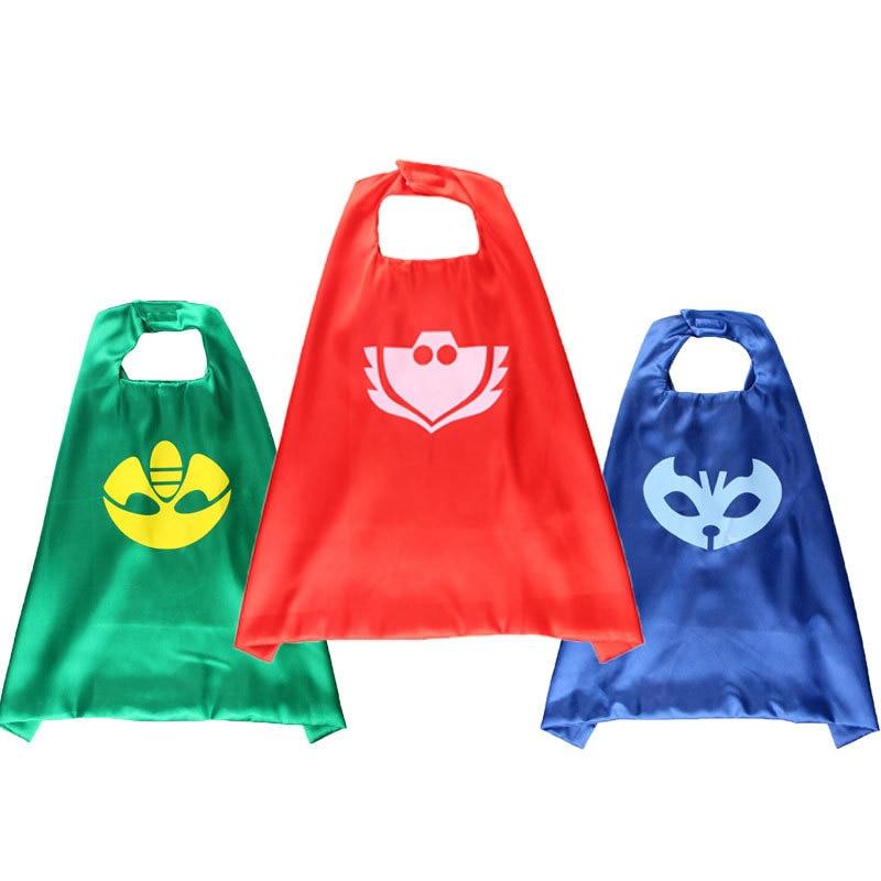 Pj MASKS Mask Cloak Launcher Catboy Owlette Gekko Birthday Party  Christmas Festive Dress Up Anime Figures Toy For Children Gift