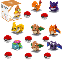 Pokemon blocks pokemon children Pikachu diamond particle blocks puzzle toy
