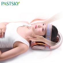 Air inflatable Cervical neck traction Tractor Portable Posture Pump Relaxing Vertebra Massager Spine Correction Pain Relief neck nerves headaches pain relief massager hammock effective cervical posture alignment braces support for home office travel