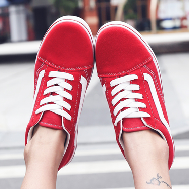 New Big Size Women's Canvas Shoes Round Head Flats Casual Shoes Women Thick Bottom Fashion Couple Board Shoes Zapatos Mujer