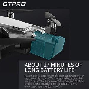 Image 2 - 4K мини Дроны с камерой Квадрокоптер Профессиональный GPS Дрон FPV Радиоуправляемый Дрон Складные Игрушки с дистанционным управлением подарок