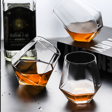 Creative Whiskey Glasses Wine Shot Glass Beer Cup Transparent Vodka Wine Glass Whiskey Covered Juice Drink Cup Bar Tool creative cool skull designed vodka whiskey shot glass transparent 70ml