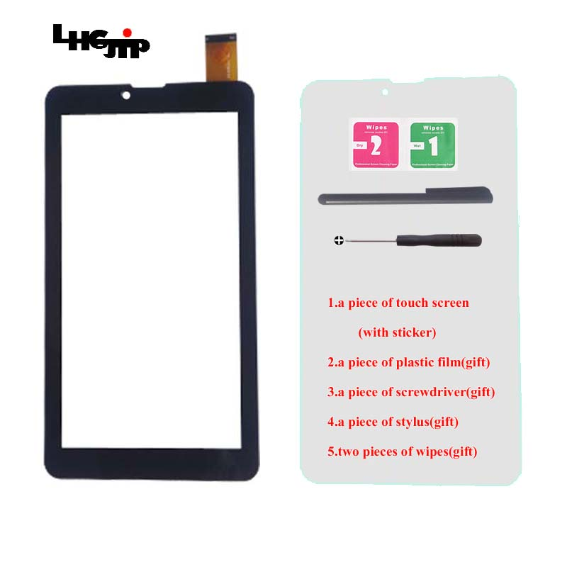 Screen/Glass/Film 7 Inch T72HRI 3G Touch Screen Digitizer For Qysters T72MR 3G, Supra M74AG,Ritmix RMD-753 Supra M74CG Tablet
