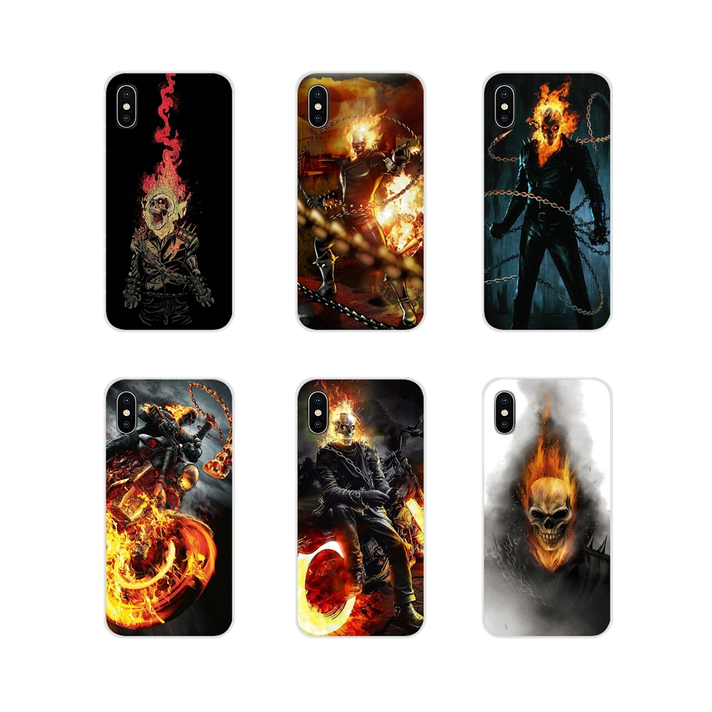 For Samsung A10 A30 A40 A50 A60 A70 Galaxy S2 Note 2 3 Grand Core Prime <font><b>Ghost</b></font> Rider Accessories Phone <font><b>Shell</b></font> Covers image