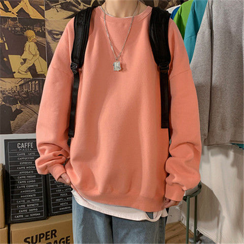 loose Korean style plus size sweatshirt winter clothes streetwear women 2020 new fashion plus velvet oversize harajuku hoodie 11