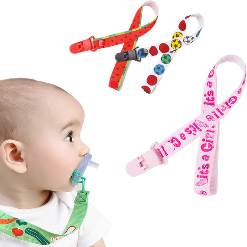 Children Pacifier Holder Clips Soother Holder New Baby Pacifier Clip Pacifier Chain Dummy Clip Nipple Holder for Nipples