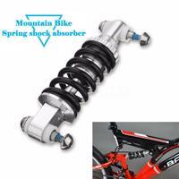 HobbyLane  amortiguador de suspensión trasera  amortiguador de muelle para piezas de bicicleta  amortiguador trasero para bicicleta de montaña plegable  125 mm