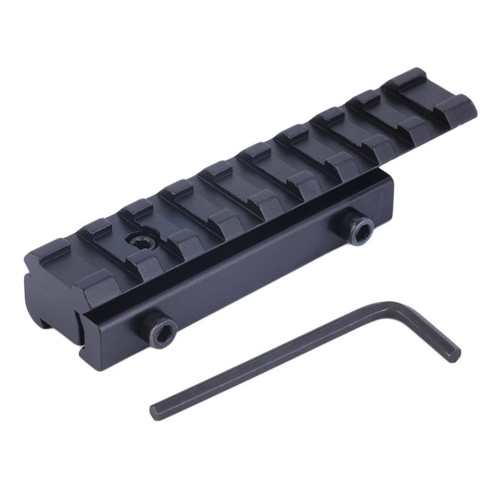 1 Set Excellent Quality Dovetail Weaver Picatinny Rail Adapter 11mm To 20mm Tactical Scope Extend Mount Adapter For Hunting