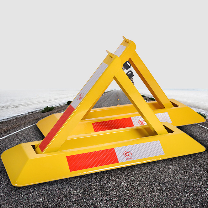 Car Obstacles Manual Parking Lock Movable Column Buffer Column Protection Pile Mobile Road Private Place Parking Lock
