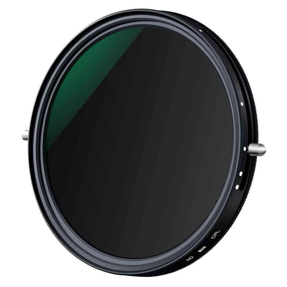 K/&F Concept 67mm ND2 to ND32 Variable ND Filter /& 67mm Circular Polarizers Filter