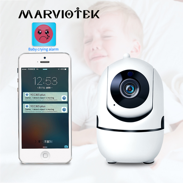 Motion Detection w/ Night Vision Baby Monitor 1
