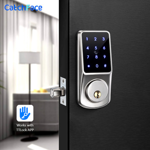 Image 2 - Bluetooth Thông Minh Khóa Cửa Điện Tử Mở Khóa với TTLock ỨNG DỤNG Chìa Khóa Dự Phòng Khóa Số Cho Văn Phòng Nhà Căn Hộ Khách Sạn Trường