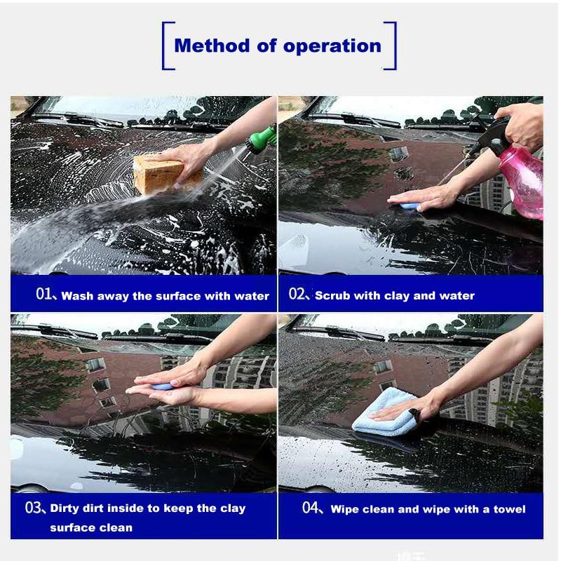 Limpeza Auto Argilas Bares Detalhamento Cleaner Cuidados de Água Ferramenta
