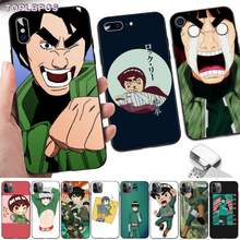 Toplbpcs legal naruto rock bruce lee preto tpu caso de telefone macio para o iphone 8 7 6s plus x 5 5S se 2020 xr 11 pro xs max(China)