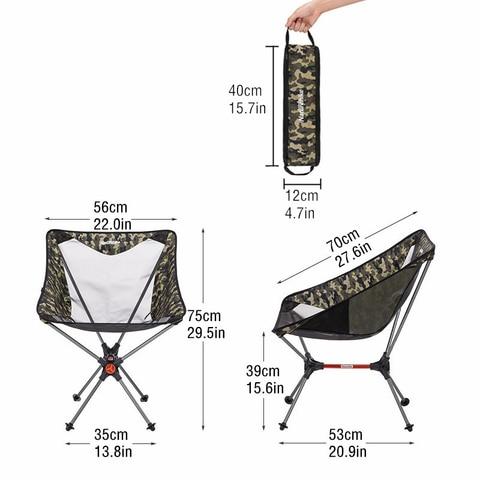naturehike novo leve portatil dobravel compacto cadeira