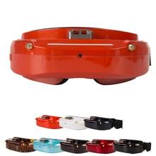 Skyzone lunettes FPV diversité SKY03O O led SKY03S 03O 03S 5.8GHz, 48ch, Support OSD DVR HDMI avec Tracker de tête ventilateur LED pour Drone RC