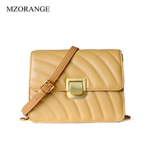MZORANGE Small Crossbody Bags for Women 2019 Genuine Leather Shoulder Bag Ladies Luxury Designer Flap Girls Purse and Clutch