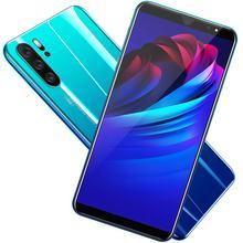 P33 Smart Telefon 5 Inch 3G Großen Bildschirm Handy 512Mb Ram Hohe Kapazität Echt Fingerprint Gesicht Entsperren handys