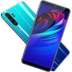 P33 Smart Phone 5 Inch 3G Large Screen Mobile Phone 512Mb Ram High Capacity Real Fingerprint Face Unlock Phones