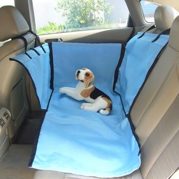 Pet Carriers Dog Car Seat Cover Mats Hammock Cushion Foldable  Rear Back Mat Blanket Waterproof Travel Bag Pet Supplies