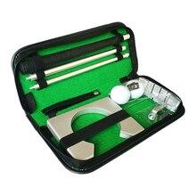 Golf miotacz Putting Trainer Mini sprzęt golfowy zestaw do ćwiczeń podróż praktyka kryty golfy akcesoria Golf pomoce szkoleniowe narzędzie