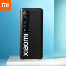 6.67'' Fitted Cases Original Xiaomi Mi 10 Mi 10 Pro Phone Cases CellPhone Bumpers Casing Xiomi Smartphone Protective Shell Black(China)