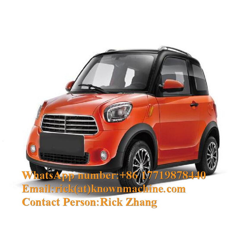 High Speed Luxury Adult Solar Mini Electric Car /Chinese Electric Car With 4 People Seats Capacity