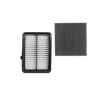 Air Filter Cabin Filter 2 pcs Set For Honda Fit Vezel 2014-Today/ Greiz City 2015-Today 1.5 Car Accessoris Filter Set image