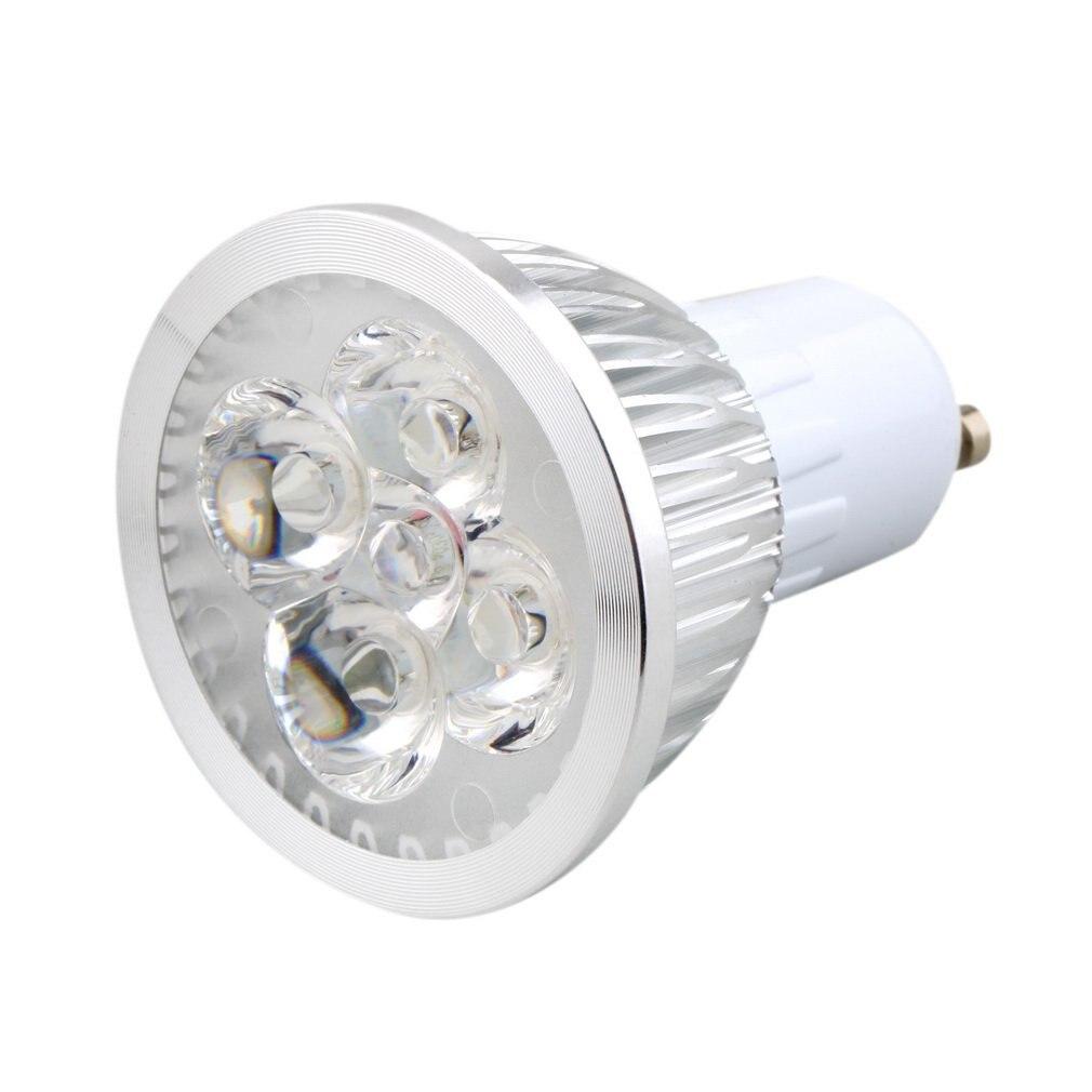 6W 4LED GU10 Spotlight High Light Intensity Indoor Light Bulbs LED Downlight Lamp Bulb Spot Light Pure/Warm White AC 110-240V