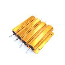 40r 40ohm 40 150r 150ohm 150 r ohm 100w watt de alumínio wirewound power metal escudo caso resistor resistência rx24