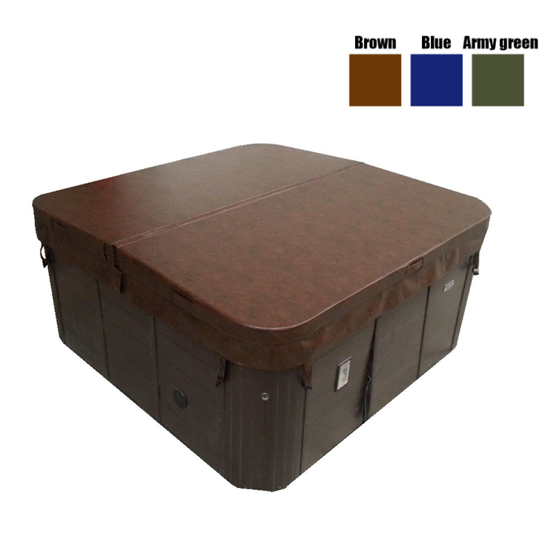 Universal Tub Cover All-Weather Spa Cover Cap Protector Hotspring Spa Weather Waterproof Prevent Snow Rain Dust Guard