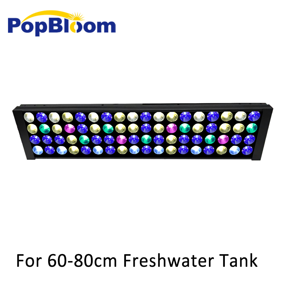 PopBloom led freshwater aquarium light lamp for fishbowl lighting shine sunsun dimmable programmable FI4BP1