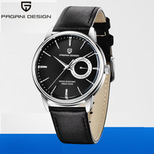 2020 PAGANI DESIGN men's watches top brand luxury watch men leather simple military waterproof 100M clock man relojes hombre(China)